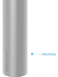eVic supreme Röhre für Akku Joyetech - single battery Tube
