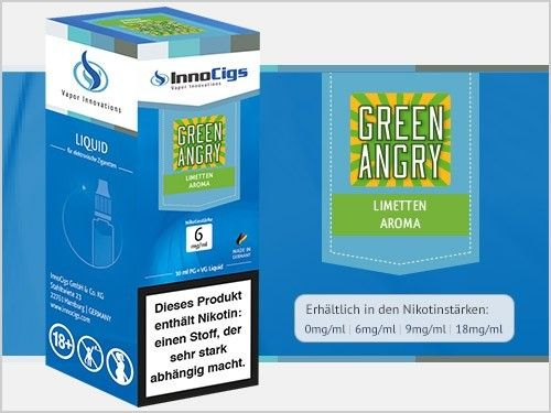 Green Angry Limetten Aroma Liquid