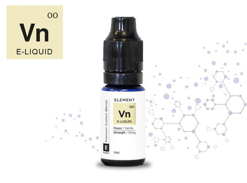 Element VN Vanille Liquid mit Nikotin