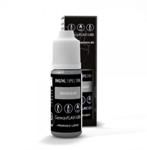 Dragon Blood Liquid by German Flavours 10ml (mit Nikotin)