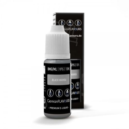 Black Mamba Tabak Liquid by German Flavours 10ml (mit Nikotin)