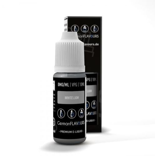 White Lion Liquid by German Flavours 10ml (mit Nikotin)