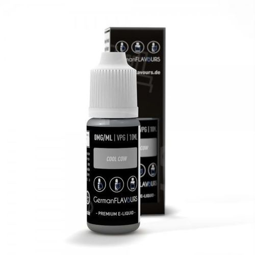 Cool Cow Menthol Liquid by German Flavours 10ml (mit Nikotin)