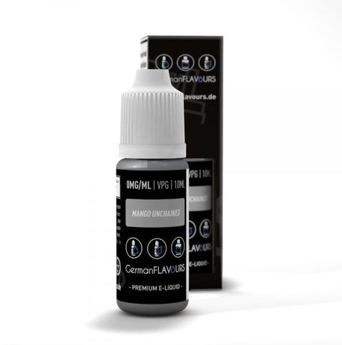 Mango Unchained Liquid by German Flavours 10ml (mit Nikotin)