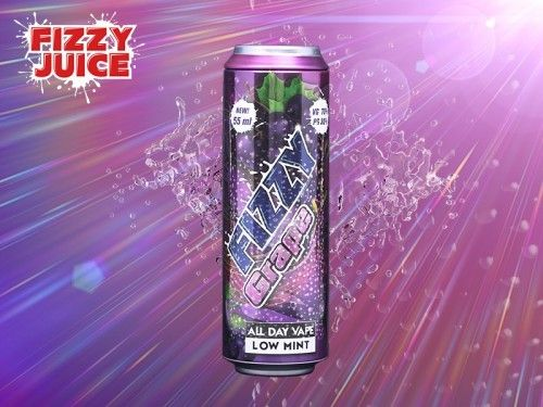 Fizzy Grape Shake & Vape Liquid 55ml