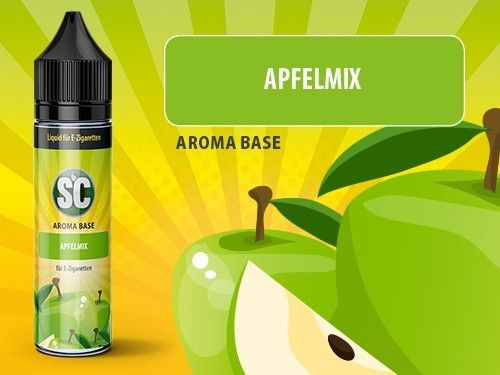 SC Vape Base Apfelmix 50ml